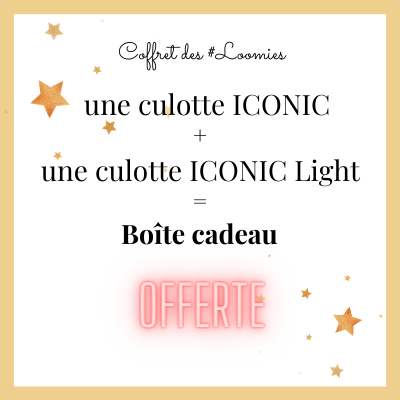 coffret noel black Glitter culotte iconic et iconic light