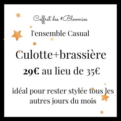 culotte casual black glitter Bloomie Loomie
