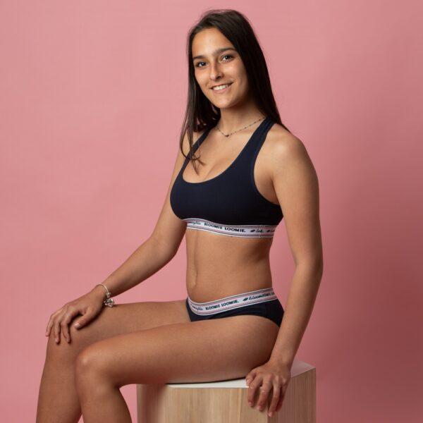 culotte menstruelle de sport avec brassière